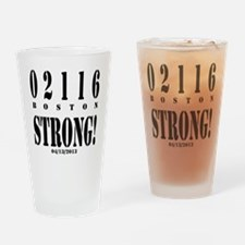 Boston Strong! Drinking Glass