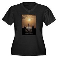 Funny Reborn Women's Plus Size V-Neck Dark T-Shirt
