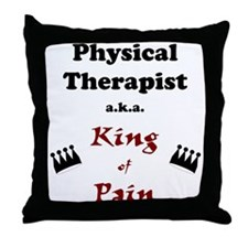 King of Pain Throw Pillow