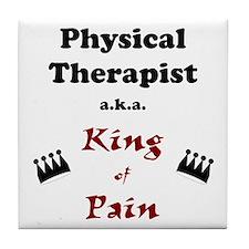 King of Pain Tile Coaster