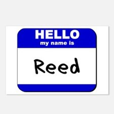 hello my name is reed  Postcards (Package of 8)