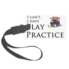 Pirates of Finance - play practi Luggage Tag