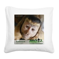 Jersey Square Canvas Pillow