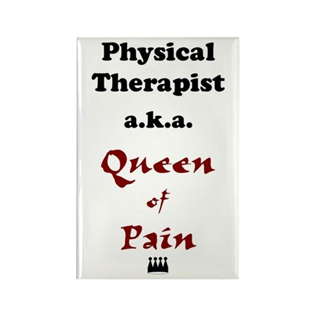 Queen of Pain Rectangle Magnet