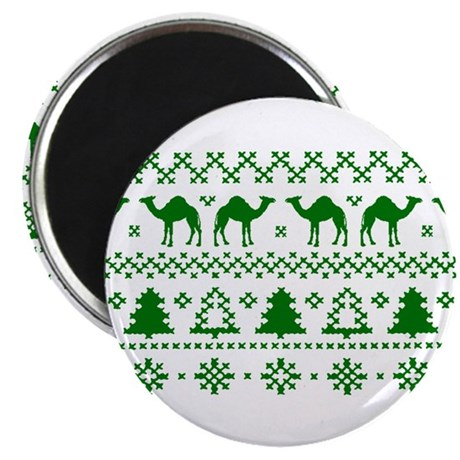 Christmas Hump Day Camel Ugly Sweater Magnets