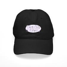 """Design Diva"" [purple] Baseball Hat"