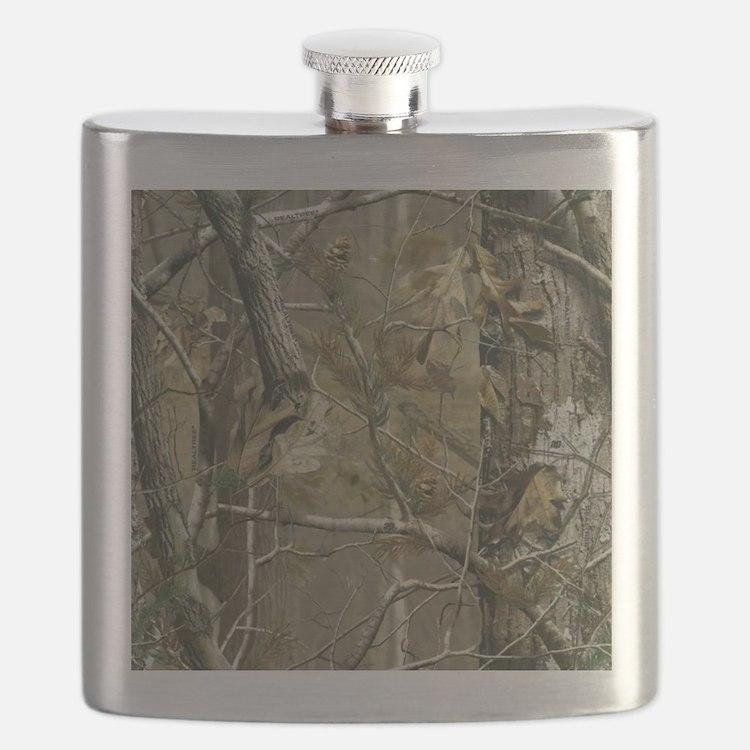 Realtree Camo Flask