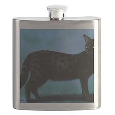 savannah cat Flask