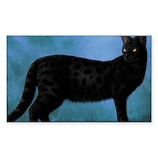 savannah cat Decal