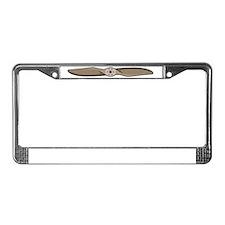 Propeller License Plate Frame