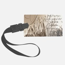 Grain of wheat Luggage Tag