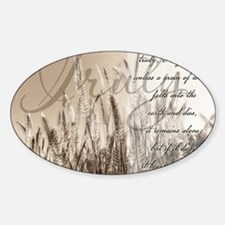Grain of wheat Decal