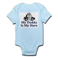 My Daddy Is My Hero (Policema Infant Bodysuit