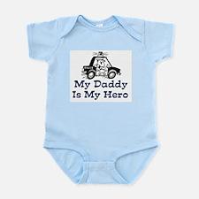 My Daddy Is My Hero (Policema Infant Bodysuit