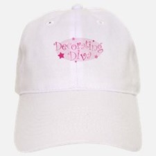 """Decorating Diva"" [pink] Baseball Baseball Cap"