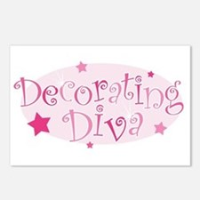 """Decorating Diva"" [pink] Postcards (Package of 8)"