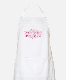 """Decorating Diva"" [pink] BBQ Apron"
