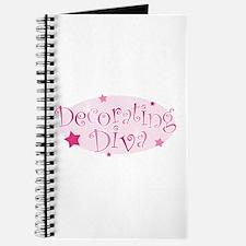"""Decorating Diva"" [pink] Journal"
