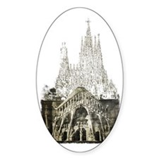 Sagrada Familia Decal