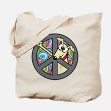 Greystock peace sign Tote Bag