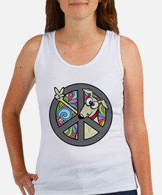 Greystock peace sign Women's Tank Top