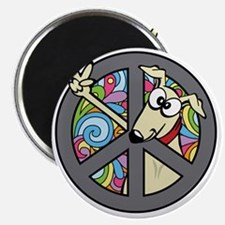 Greystock peace sign Magnet