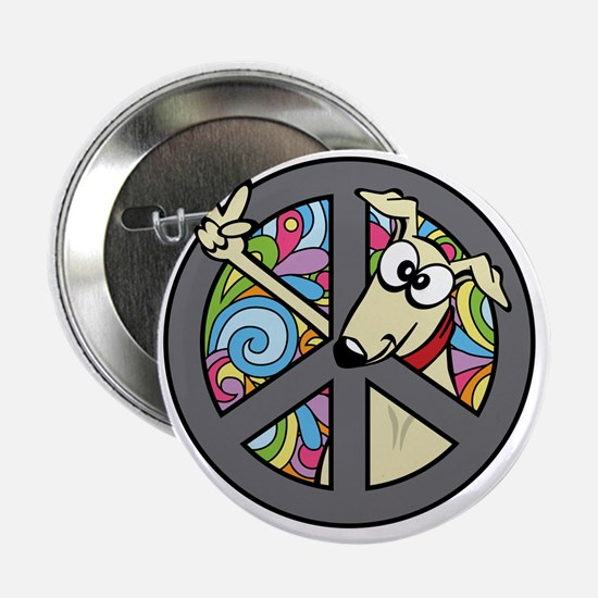 """Greystock peace sign 2.25"""" Button"""