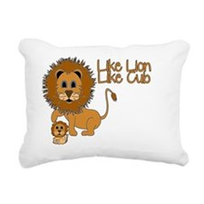 Like_Lion_Like_Cub Rectangular Canvas Pillow