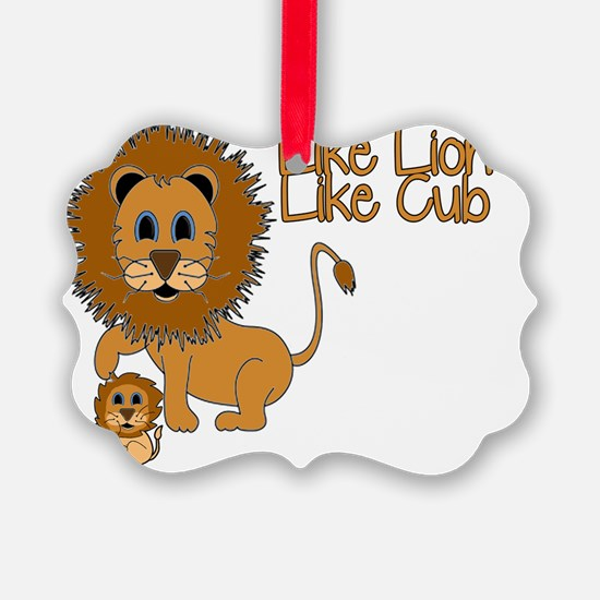 Like_Lion_Like_Cub Ornament