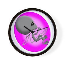 Alien Fetus Wall Clock