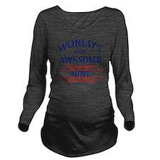 aunt Long Sleeve Maternity T-Shirt