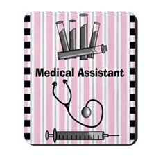 medical assistant blank 1 Mousepad