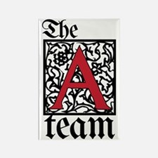 Team Atheist Rectangle Magnet