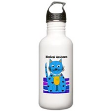 medical assistant cat Water Bottle