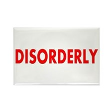 Disorderly Rectangle Magnet (10 pack)