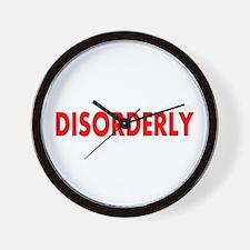 Disorderly Wall Clock
