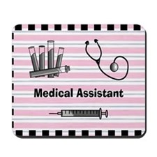 medical assistant blank 2 Mousepad