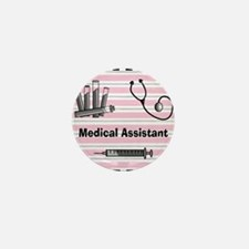 medical assistant blank 2 Mini Button