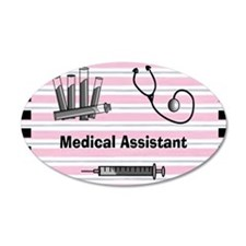 medical assistant blank 2 Wall Decal