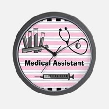medical assistant blank 2 Wall Clock