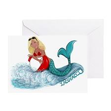 Iacovacci Mermaid Greeting Card