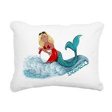 Iacovacci Mermaid Rectangular Canvas Pillow