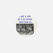 law Mini Button
