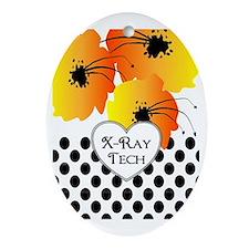 xray tech 2 Oval Ornament