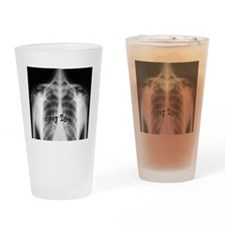 xray tech 9 Drinking Glass