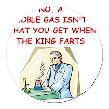 chemistry Round Car Magnet