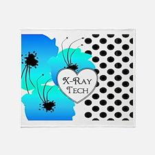 xray tech 4 Throw Blanket