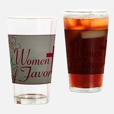 WOF Logo Drinking Glass