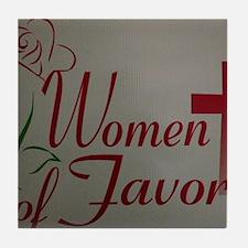 WOF Logo Tile Coaster