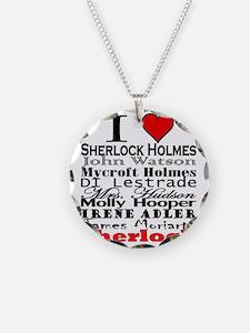 I Heart Sherlock Necklace